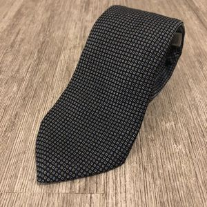 Michael Kors Blue Polka Dot Tie Accent marks